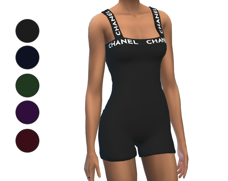 Outfit - Sleeveless Chanel Short Jumpsuit