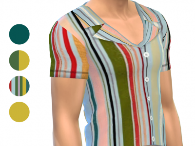 Shirt - Short Sleeve - Pattern